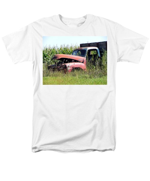 Men's T-Shirt  (Regular Fit) featuring the photograph Retired by Deb Halloran
