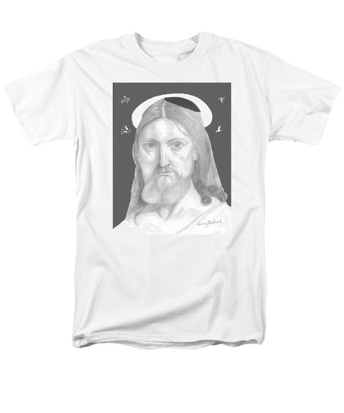 Men's T-Shirt  (Regular Fit) featuring the drawing Revelations by Terry Frederick