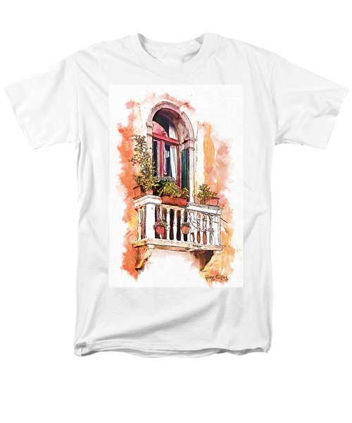 Men's T-Shirt  (Regular Fit) featuring the painting Riposo by Greg Collins