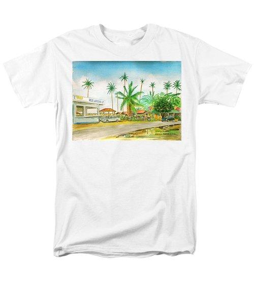 Roadside Food Stands Puerto Rico Men's T-Shirt  (Regular Fit) by Frank Hunter