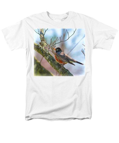 Robin Men's T-Shirt  (Regular Fit)