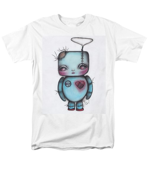 Robot Men's T-Shirt  (Regular Fit) by Abril Andrade Griffith
