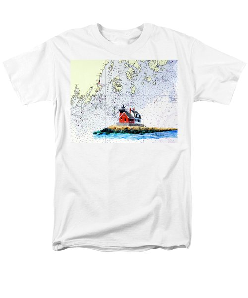 Rockland Breakwater Light Men's T-Shirt  (Regular Fit) by Mike Robles