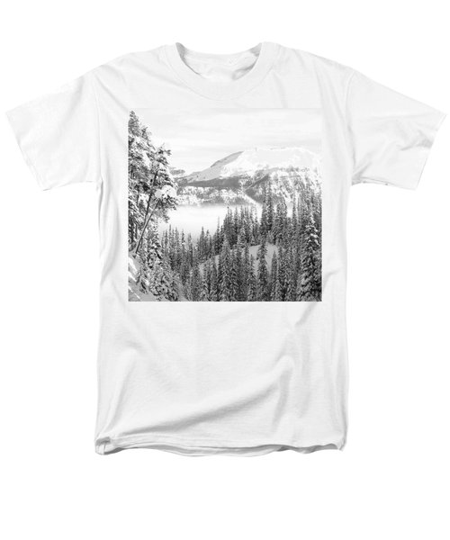 Rocky Mountain Vista Men's T-Shirt  (Regular Fit) by Cheryl Miller