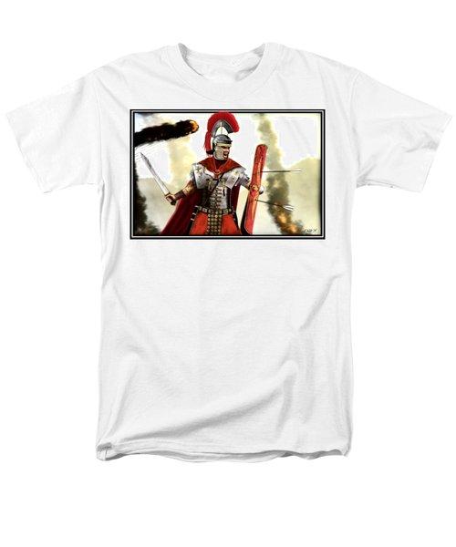 Roman Centurion Men's T-Shirt  (Regular Fit) by John Wills