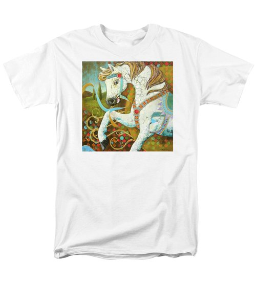 Runaway Rocker Men's T-Shirt  (Regular Fit) by Robin Birrell
