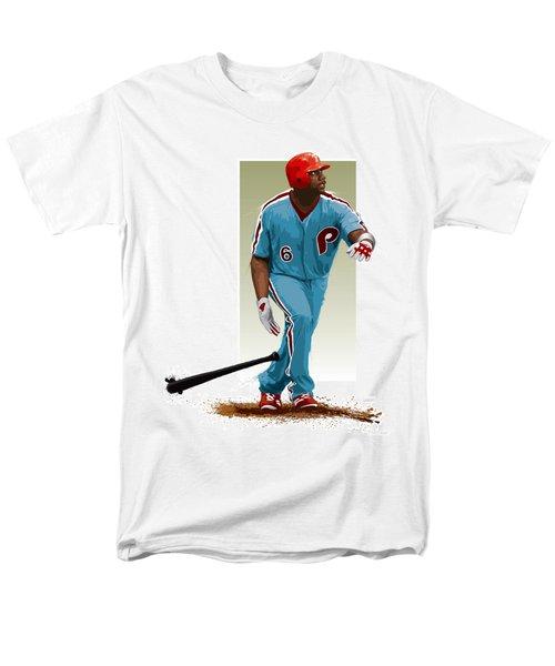 Ryan Howard Men's T-Shirt  (Regular Fit) by Scott Weigner