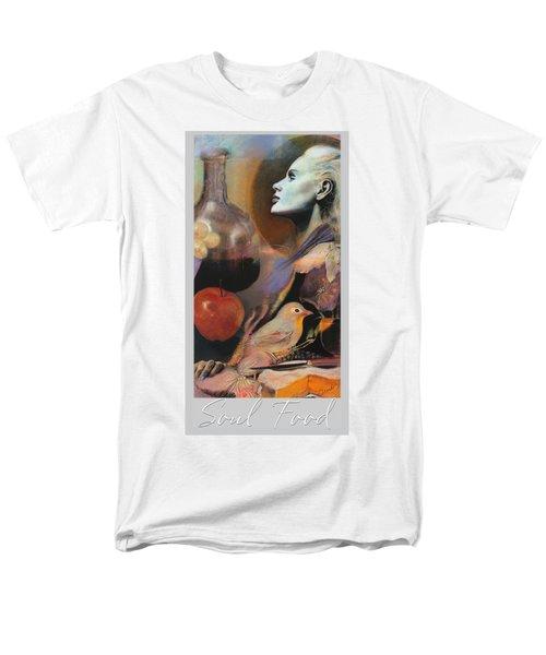 Soul Food - With Title And Light Border Men's T-Shirt  (Regular Fit) by Brooks Garten Hauschild