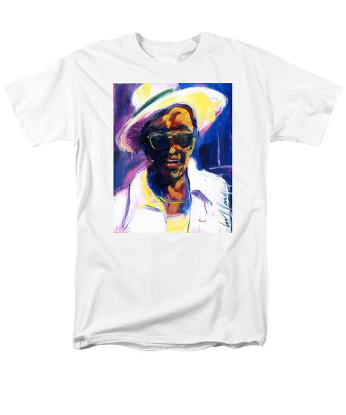 Men's T-Shirt  (Regular Fit) featuring the painting Sam Hopkins by Les Leffingwell