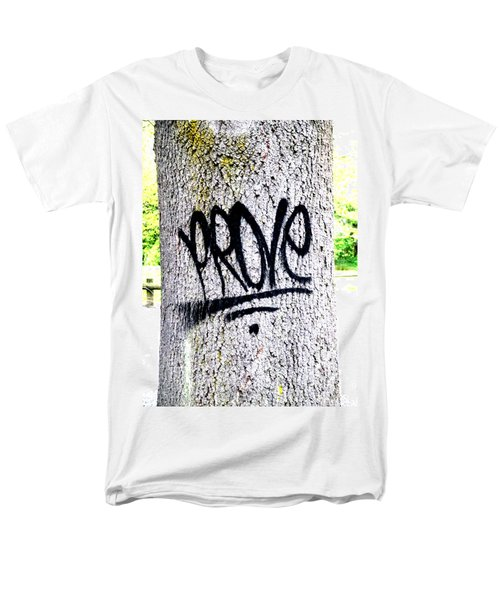 Scientific Graffiti  Men's T-Shirt  (Regular Fit) by Steve Taylor