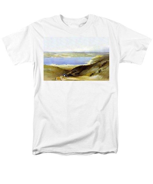 Sea Of Galilee Men's T-Shirt  (Regular Fit) by Munir Alawi