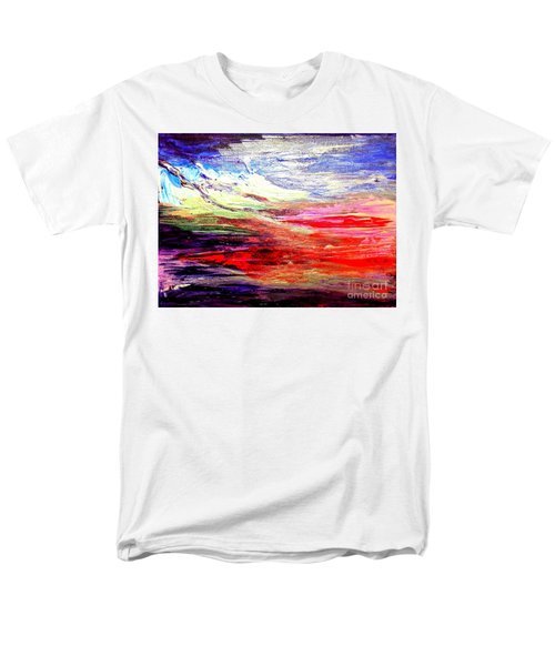 Sea Sky I Men's T-Shirt  (Regular Fit) by Karen  Ferrand Carroll