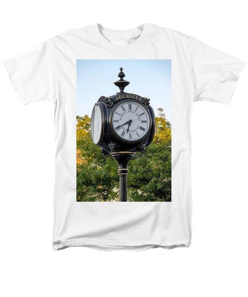 Secaucus Clock Marras Drugs Men's T-Shirt  (Regular Fit) by Susan Candelario