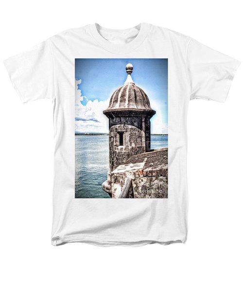 Sentry Box In El Morro Hdr Men's T-Shirt  (Regular Fit)