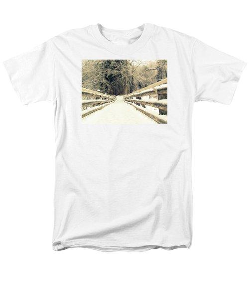 Sepia Winter Land Men's T-Shirt  (Regular Fit) by France Laliberte