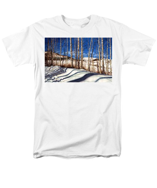 Men's T-Shirt  (Regular Fit) featuring the painting Shadow Dance by Barbara Jewell