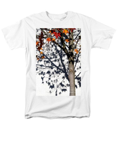 Men's T-Shirt  (Regular Fit) featuring the photograph Shadows Of Fall by CML Brown