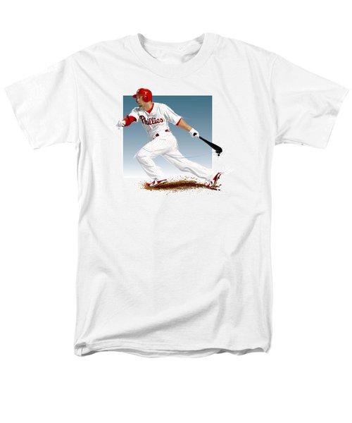 Shane Victorino Men's T-Shirt  (Regular Fit) by Scott Weigner