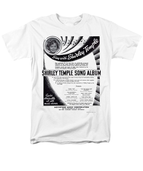 Shirley Temple Song Album Men's T-Shirt  (Regular Fit) by Mel Thompson