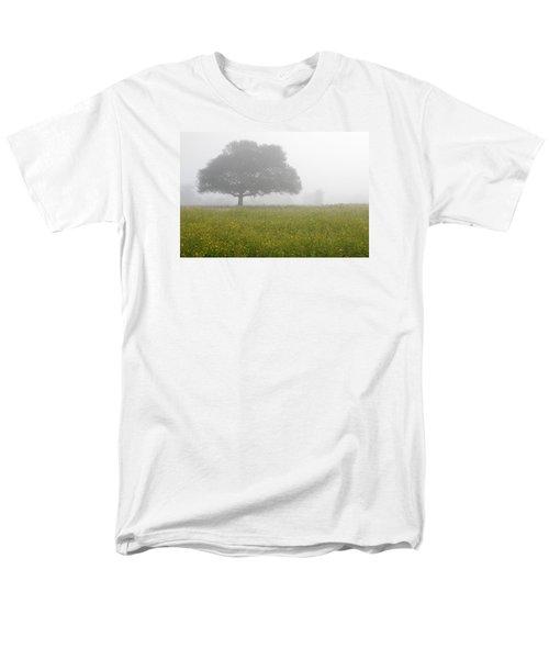 Men's T-Shirt  (Regular Fit) featuring the photograph Skc 0056 Tree In Fog by Sunil Kapadia