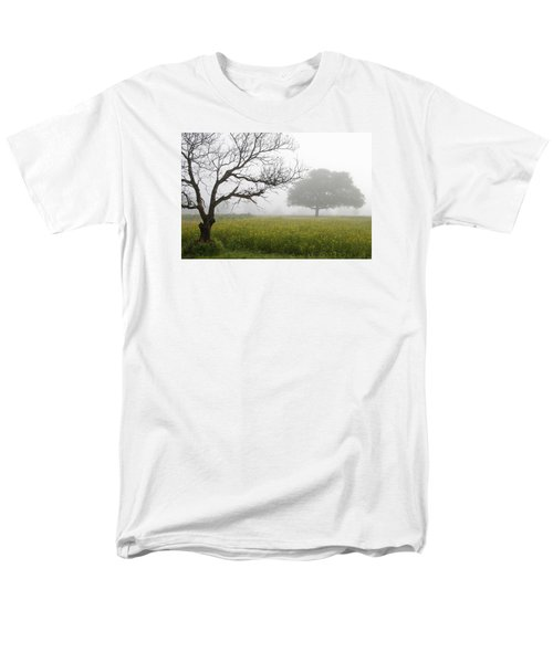 Men's T-Shirt  (Regular Fit) featuring the photograph Skc 0058 Contrasty Trees by Sunil Kapadia