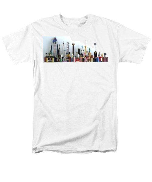 Skyline Sculpture Men's T-Shirt  (Regular Fit) by Ron Davidson