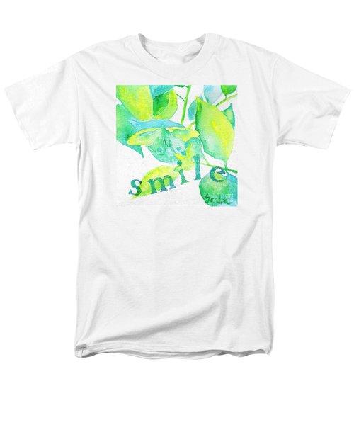 Smile Men's T-Shirt  (Regular Fit)