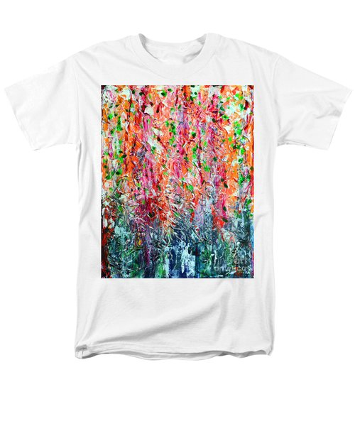 Snapdragons II Men's T-Shirt  (Regular Fit) by Alys Caviness-Gober