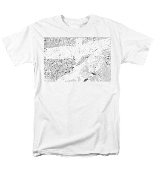 Soaring Hawks Indian Spirit White Gold Men's T-Shirt  (Regular Fit) by Deprise Brescia