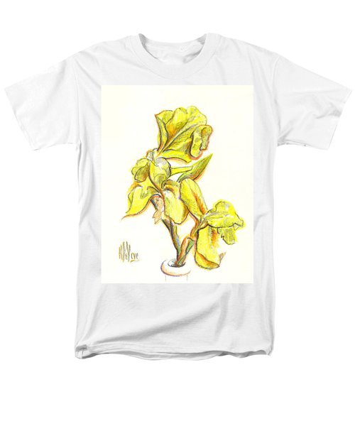 Spanish Irises Men's T-Shirt  (Regular Fit)