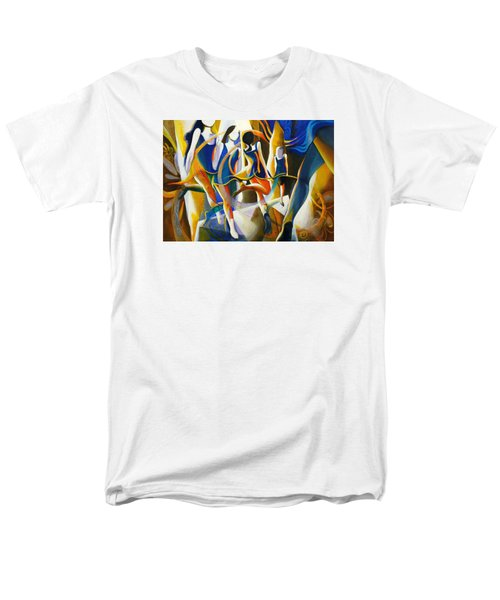 Men's T-Shirt  (Regular Fit) featuring the painting Spirited Away by Georg Douglas
