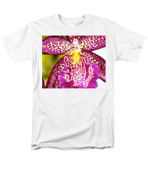 Spotted Orchid Men's T-Shirt  (Regular Fit) by Lehua Pekelo-Stearns