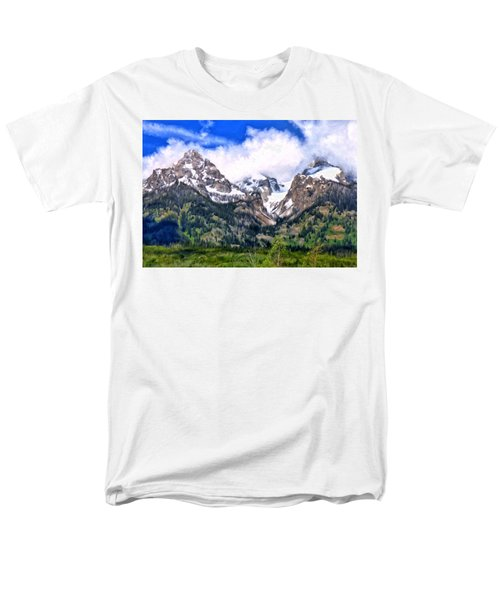 Spring In The Grand Tetons Men's T-Shirt  (Regular Fit) by Michael Pickett