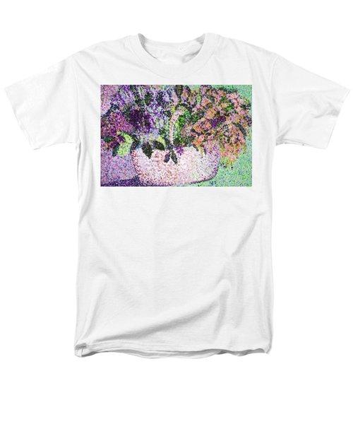 Springtime Basket Men's T-Shirt  (Regular Fit)