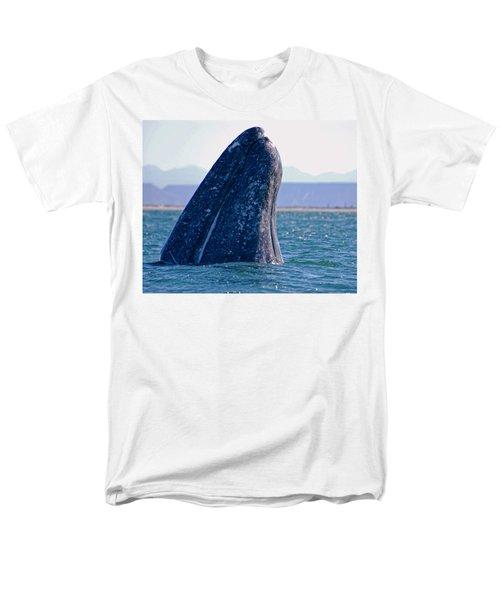 Men's T-Shirt  (Regular Fit) featuring the photograph Spyhopping by Don Schwartz