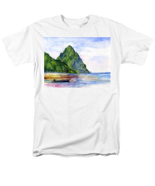 St. Lucia Men's T-Shirt  (Regular Fit)