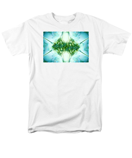 Stain Glass Men's T-Shirt  (Regular Fit) by Lena Auxier