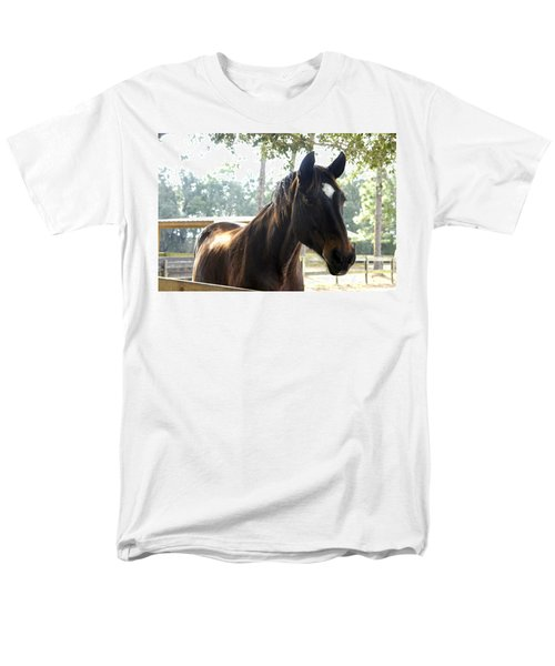 Star Men's T-Shirt  (Regular Fit) by Laurie Perry