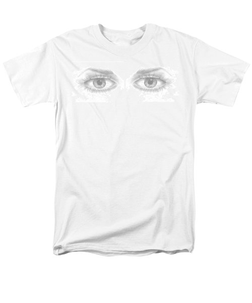 Men's T-Shirt  (Regular Fit) featuring the drawing Stare by Terry Frederick