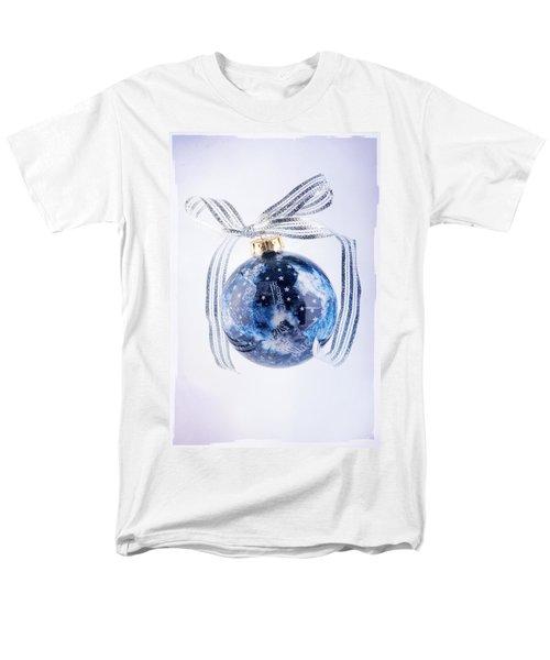 Christmas Ornament With Stars Men's T-Shirt  (Regular Fit) by Vizual Studio