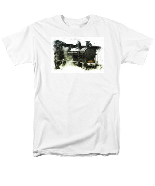 Men's T-Shirt  (Regular Fit) featuring the photograph Steam 01 by Kevin Chippindall