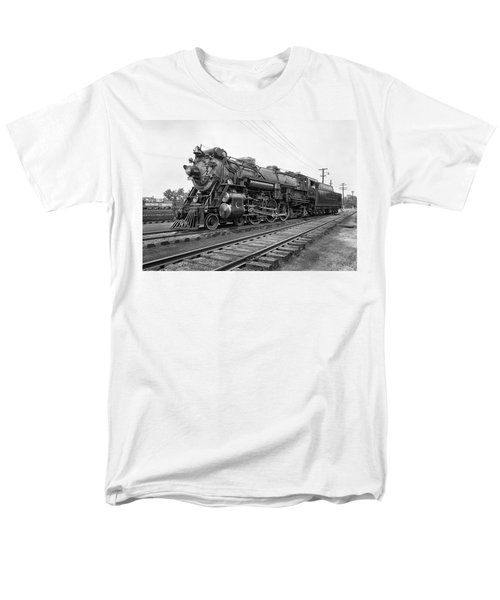 Steam Locomotive Crescent Limited C. 1927 Men's T-Shirt  (Regular Fit) by Daniel Hagerman