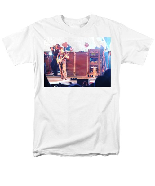 Men's T-Shirt  (Regular Fit) featuring the photograph Stephan The Bass Player by Aaron Martens