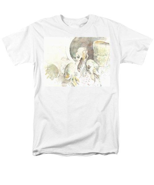 Still Life With Skulls Men's T-Shirt  (Regular Fit) by Melinda Dare Benfield