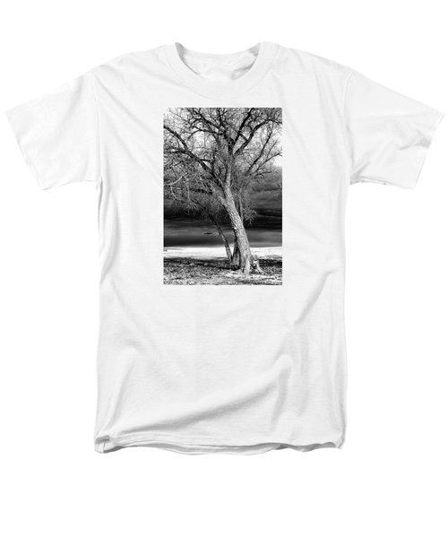 Storm Tree Men's T-Shirt  (Regular Fit) by Steven Reed