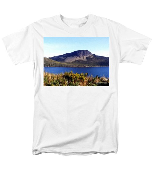 Sugarloaf Hill In Summer Men's T-Shirt  (Regular Fit) by Barbara Griffin