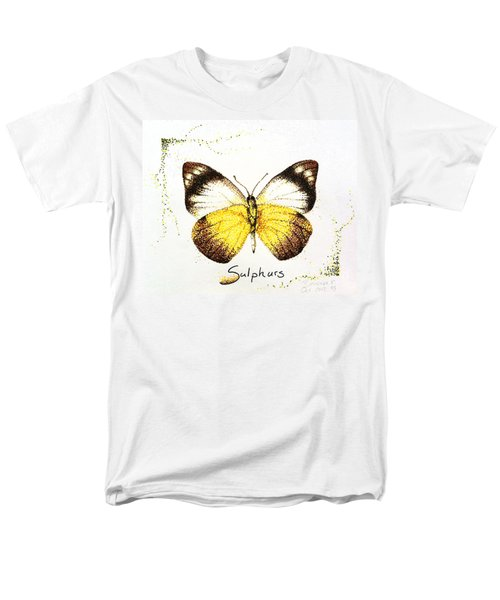 Sulphurs - Butterfly Men's T-Shirt  (Regular Fit) by Katharina Filus