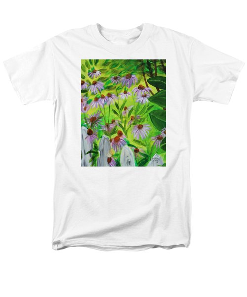 Summer Flowers In Peculiar Mo. Men's T-Shirt  (Regular Fit) by Patricia Olson