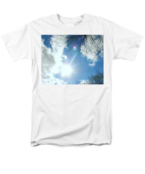 Men's T-Shirt  (Regular Fit) featuring the photograph Sun Burst by Pamela Hyde Wilson