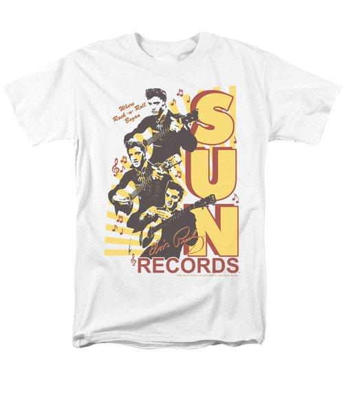 Sun - Tri Elvis Men's T-Shirt  (Regular Fit) by Brand A